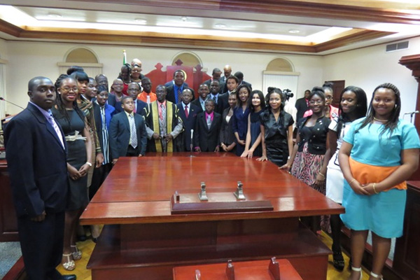 25 Most Remarkable Teens highlight significant youth empowerment, says Minister Glen Phillip during Special Sitting of the National Assembly
