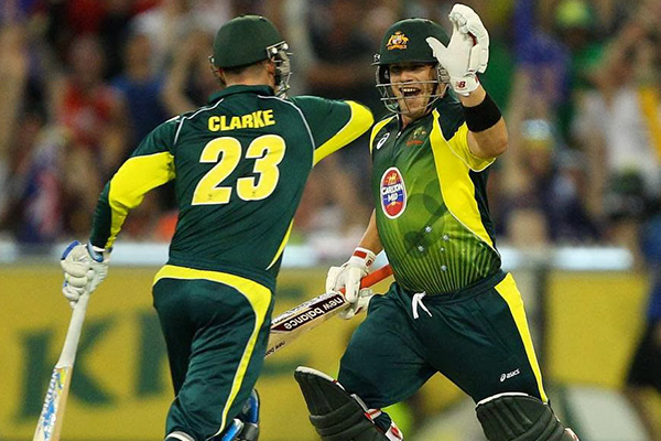 Finch hundred sets up Australia win