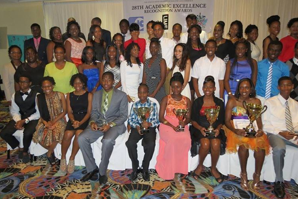 Students Honoured at 28th Academic Excellence Recognition Awards Ceremony