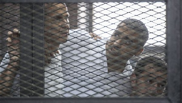 'Wrong. Wrong. Wrong': Journalists show dismay for Al Jazeera convictions
