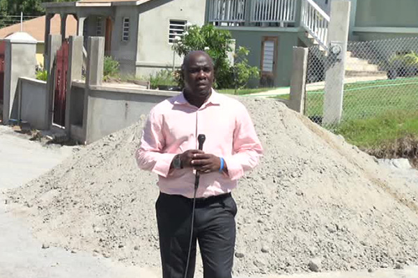 Relief coming for Colquhoun Development residents; new road under construction