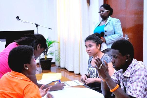 CARICOM Secretariat exposes Guyanese youth to lucrative animation career