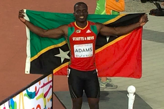 Adams to Compete in 200m Race at World Championships