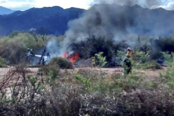 Ten killed as helicopters collide in Argentina