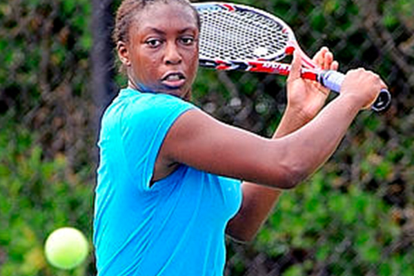 Read about Arielle Griffin in the fifth of 11 features on each of the Umass tennis players