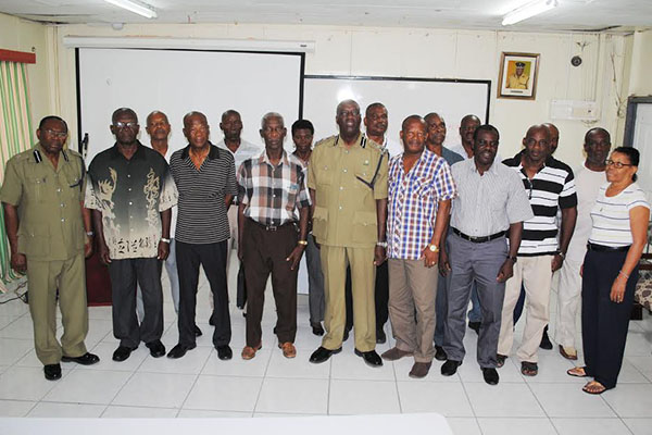 Association for Retired Police Officers mooted