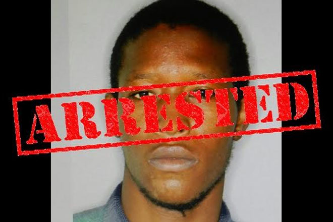 Wanted man caught