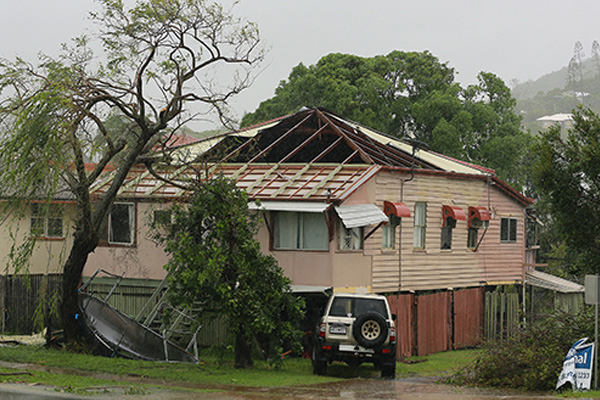 1,500 homes damaged by Cyclone Marcia in Australia