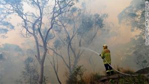 Australia's bushfires inflame climate change debate