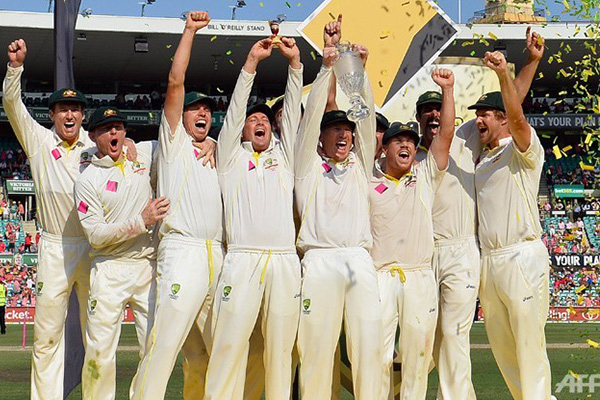 Australia Complete 5-0 Ashes Sweep
