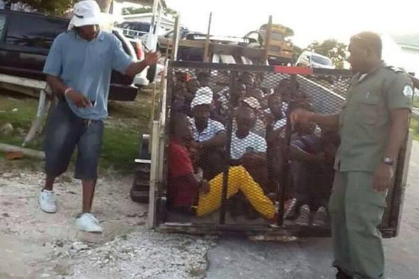 Bahamas denies keeping migrants 'herded like cattle'