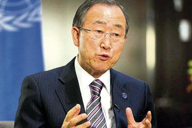 UN chief says world on way to 'generation free of AIDS'