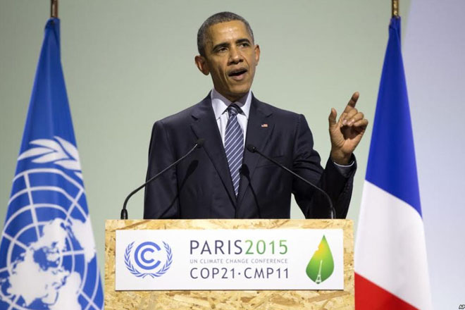 COP21: Paris Conference could be Climate Turning Point, says Obama
