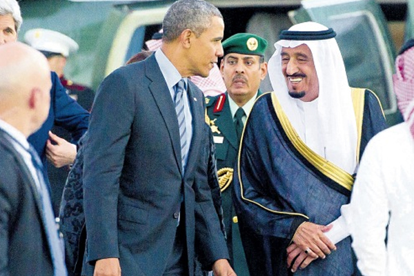Obama visits Saudi Arabia for talks with new king
