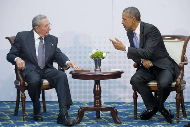 United States, Cuba to turn the page, says Obama