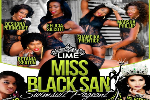 Felicia Silcott Wins 2015 LIME Miss Black San Swimsuit Pageant