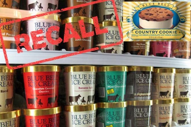 Urgent Public Advisory – Blue Bell Ice Cream Products Recall