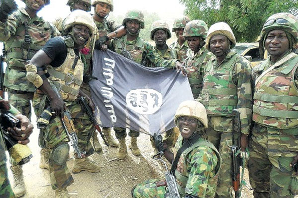 UPDATE: Boko Haram fighters told to 'kill wives' as troops take its 'HQ'