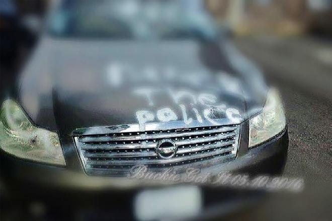 Car vandalized in St. Johnson Village