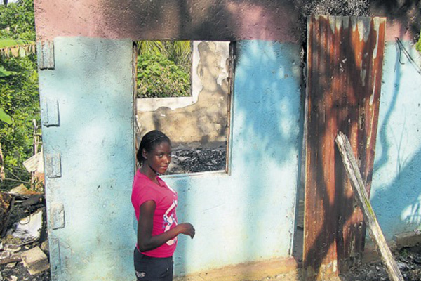 Burnt out – 11 left homeless after fire