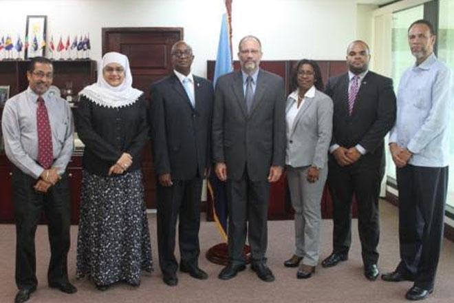 CARICOM secretary general meets St Maarten delegation on associate membership