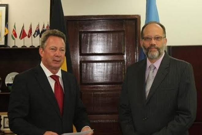 Belgian ambassador to Caricom says 'no plan b for climate change'