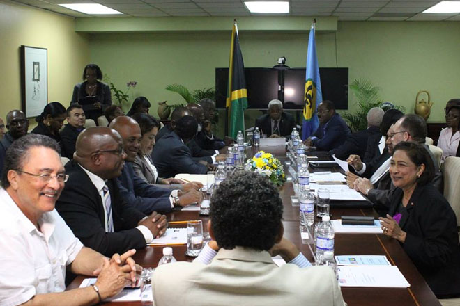 PM Harris joins Regional and International leaders in Forum on shaping a new Caribbean Future