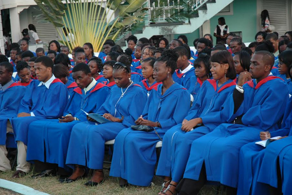 85 percent students at CFBC and 80 percent at Nevis 6th Form were successful at CAPE