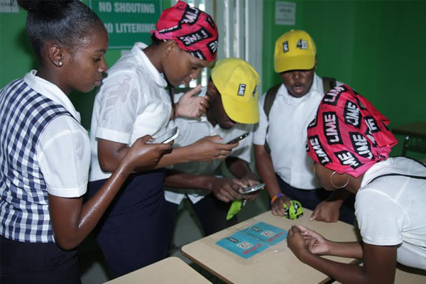 CFBC Student Government Association organizes first Qr Code (Treasure) Hunt Powered by Lime