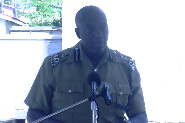 C.O.P. Walwyn Says Crime Is Lower Than In Previous Years
