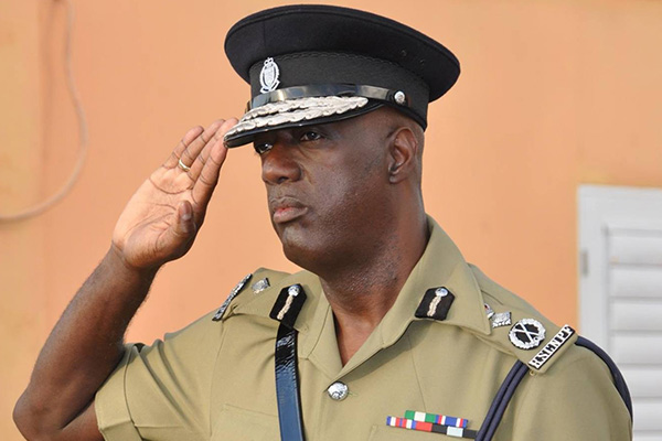 Commissioner Walwyn Salutes Police and Residents of Nevis