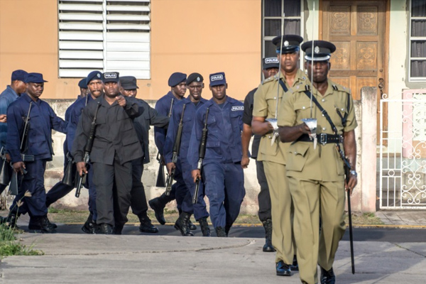 Police Route March reinforces commitment to public