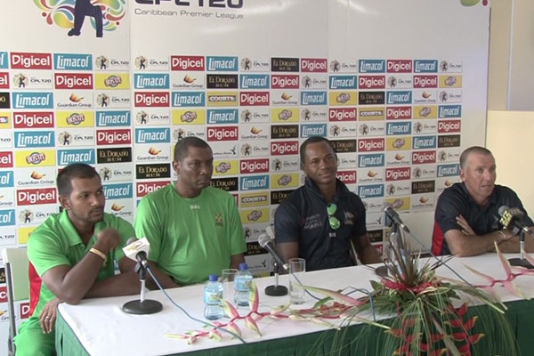 CPL players excited to be in St. Kitts