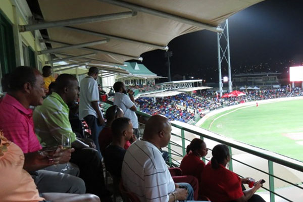 Warner Park Cricket Stadium alive with international matches, says Minister Phillip