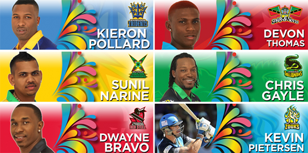 St Kitts and Nevis CPL Figures 2015