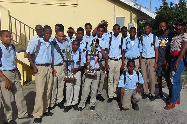 CSS Receives Trophies