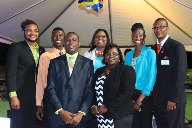 SKN Youth Delegates weigh in at Commonwealth Caribbean Youth Ministers meeting
