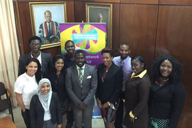 Regional youth celebrate Caribbean Youth Day 2015