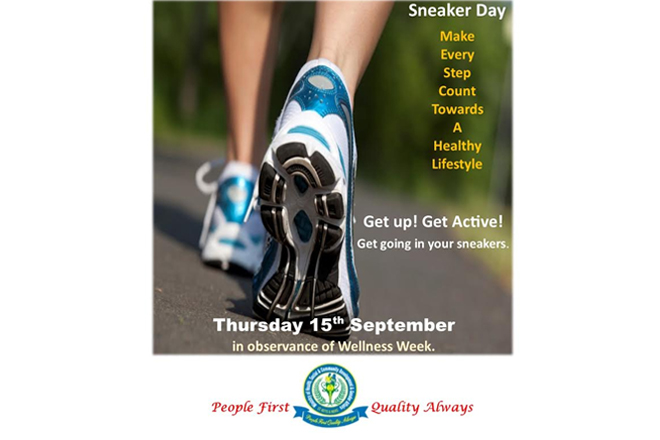 First Sneaker Day takes place as part of Caribbean Wellness Week Activities