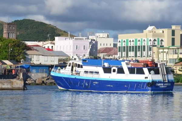 SCASPA collects data on passenger movements leaving St. Kitts' ferry terminal for Nevis, averages 10,000 monthly