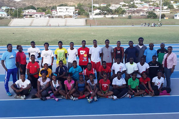 33 Athletes and 6 Officials for CARIFTA 2014