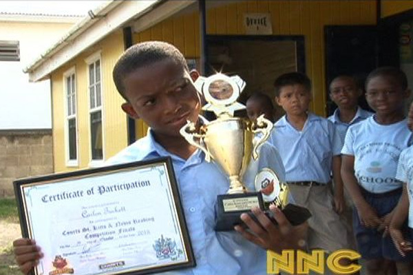 Maude Crosse Preparatory School runner up in Federal Reading Contest