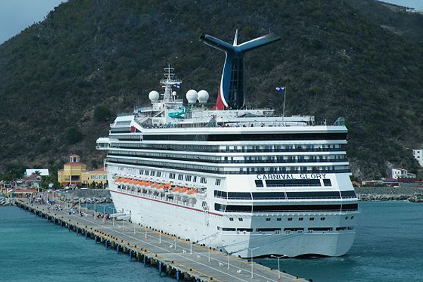St. Kitts' Port Zante on three Carnival ships 10-14-day cruise in 2015/2016