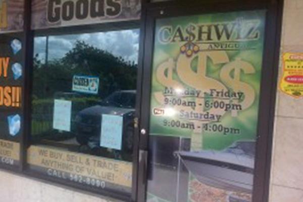 Cashwiz Manager held