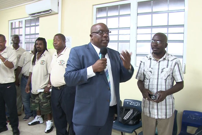PM calls on Students and Residents of Cayon to help fight crime