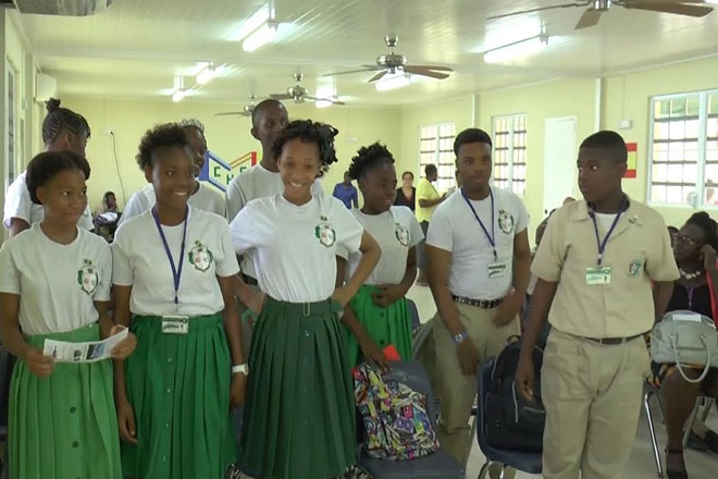 Cayon High School launches Champions for Change Club