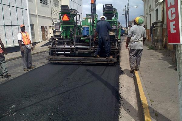 Resurfacing of Central Street begins