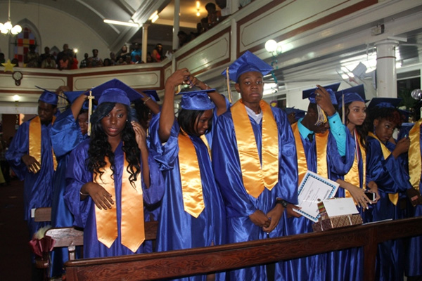 Be symbols of industry; virtue, CSS Valedictorian Brantley tells fellow graduands