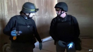 Syria chemical arms team 'turned back after safety fears'