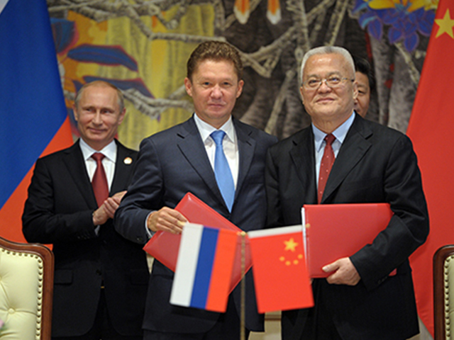 China signs 30-year deal for Russian natural gas